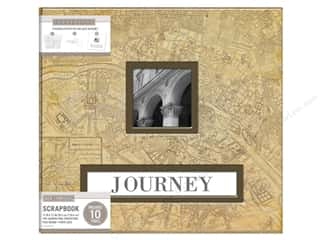 scrapbooking & paper crafts: K & Company 12 x 12 in. Scrapbook Frame A Name Album Vintage Map