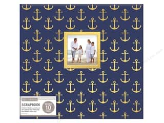 scrapbooking & paper crafts: K & Company 12 x 12 in. Scrapbook Window Album Nautical