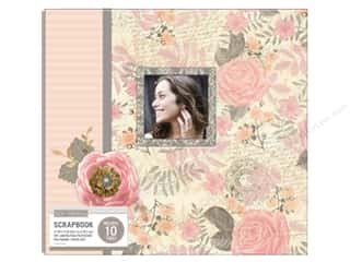 "Memory Albums / Scrapbooks / Photo Albums: K&Company Scrapbook Album 12""x 12"" Parisian Floral Boxed"