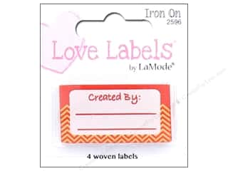 Blumenthal Iron-On Lovelabels 4 pc. Created By