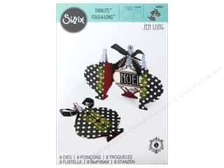 Sizzix Thinlits Die Set 8 pc. Ornament Fold-a-Long Card