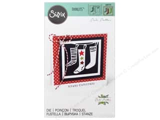dies: Sizzix Thinlits Die 1 pc. Christmas Stockings