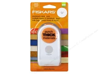 "1/2"" circle punch: Fiskars Thick Materials Punch 1 1/2 in. Circle"