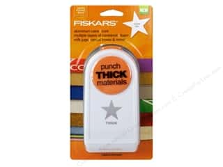 Fiskars Thick Materials Punch 2 in. Star