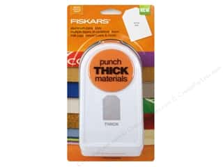 Fiskars Thick Materials Punch 2 in. Tag