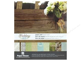 """Blue Meadow Designs: Paper House Paper Pad 6"""" Wedding Day"""