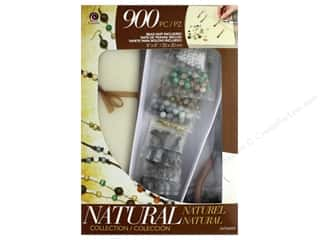 beading & jewelry making supplies: Cousin Class In A Box Kit - Natural Glass Collection