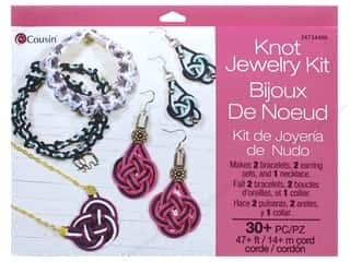 beading & jewelry making supplies: Cousin Knot Jewelry Kit