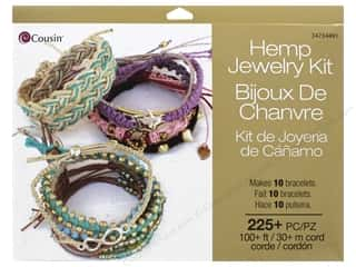 beading & jewelry making supplies: Cousin Jewelry Kit Hemp