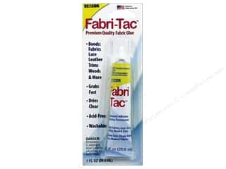 Glues/Adhesives: Beacon Fabri-Tac Permanent Adhesive 1 oz. Precision Tip