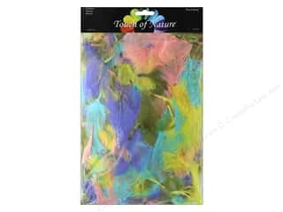 craft & hobbies: Midwest Design Turkey Feathers Value Pack 2.49 oz. Pastel