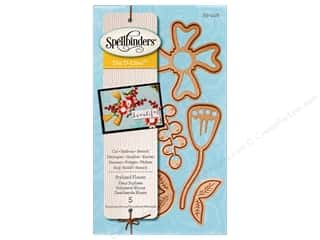 die cutting machines: Spellbinders D-Lites Die Stylized Flower