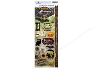 scrapbooking & paper crafts: Paper House Sticker Cardstock Halloween Hauntings