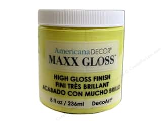 Decoart Americana Decor Maxx Gloss 8 oz. Lemon Spritzer