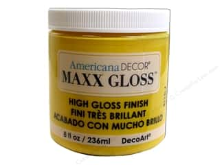 craft & hobbies: Decoart Americana Decor Maxx Gloss 8 oz. Rain Slicker