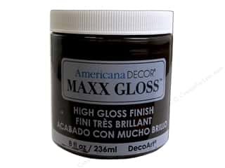 craft & hobbies: Decoart Americana Decor Maxx Gloss 8 oz. Light Molasses