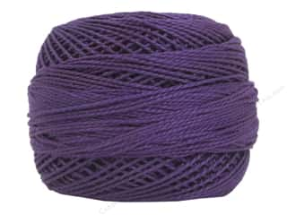 yarn & needlework: DMC Pearl Cotton Ball Size 8 #0552 Medium Violet (10 yards)