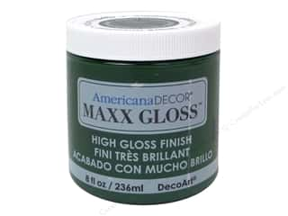 Clearance: Decoart Americana Decor Maxx Gloss 8 oz. Poblano Pepper