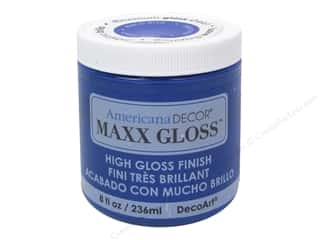 Decoart Americana Decor Maxx Gloss 8 oz. Blue Crystal