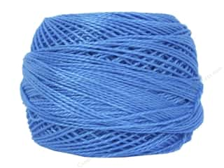 yarn & needlework: DMC Pearl Cotton Ball Size 8 #996 Medium Electric Blue (10 balls)