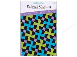 Weekly Specials Pattern: Quilt In A Day Patterns Railroad Crossing Pattern