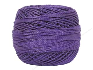 mettler mercerized cotton thread: DMC Pearl Cotton Ball Size 8 #208 Pansy Lavendar (10 balls)