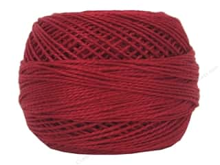 yarn & needlework: DMC Pearl Cotton Ball Size 8 #0321 Red (10 balls)