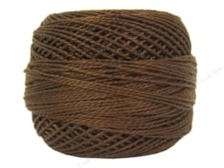 yarn & needlework: DMC Pearl Cotton Ball Size 8 #0433 Medium Brown (10 balls)