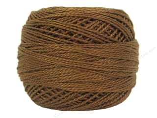 yarn: DMC Pearl Cotton Ball Size 8 #0434 Light Brown (10 balls)