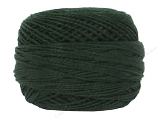 DMC Pearl Cotton Ball Size 8 #0890 Ultra Dark Pistachio Green (10 balls)