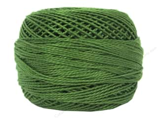 DMC Pearl Cotton Ball Size 8 #0904 Very Dark Parrot Green (10 balls)