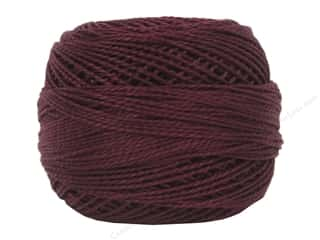 yarn & needlework: DMC Pearl Cotton Ball Size 8 #0902 Very Dark Garnet (10 balls)