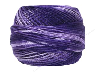 yarn & needlework: DMC Pearl Cotton Ball Size 8 #52 Variegated Violet (10 balls)