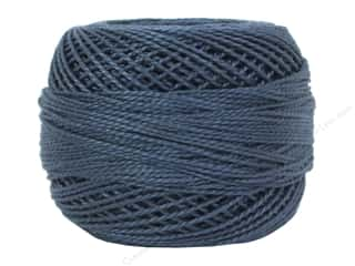 yarn & needlework: DMC Pearl Cotton Ball Size 8 #930 Dark Antique Blue (10 balls)