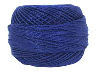 yarn & needlework: DMC Pearl Cotton Ball Size 8 #796 Dark Royal Blue (10 balls)