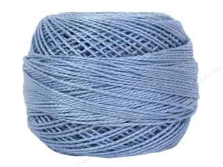 yarn & needlework: DMC Pearl Cotton Ball Size 8 #0800 Pale Delft Blue (10 balls)
