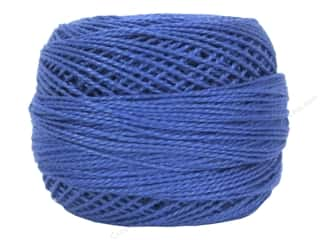 yarn & needlework: DMC Pearl Cotton Ball Size 8 #798 Dark Delft (10 balls)