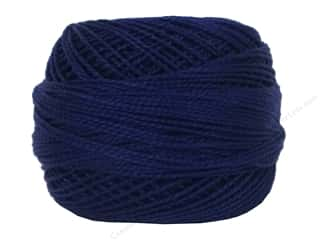 DMC Pearl Cotton Ball Size 8 #820 Very Dark Royal Blue (10 balls)