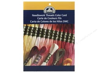 yarn & needlework: DMC Printed Color Card