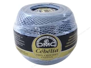 DMC Cebelia Crochet Cotton Size 10 #800 Sky Blue