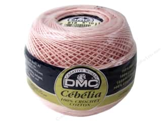 yarn & needlework: DMC Cebelia Crochet Cotton Size 10 #818 Baby Pink