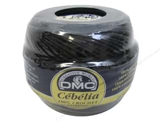 DMC Cebelia Crochet Cotton Size 20 #310 Black