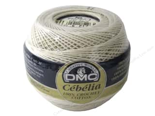 yarn & needlework: DMC Cebelia Crochet Cotton Size 10 #712 Cream