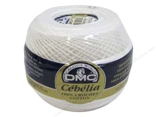 yarn & needlework: DMC Cebelia Crochet Cotton 50gm Size 10 White