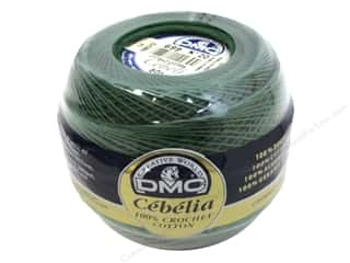DMC Cebelia Crochet Cotton Size 10 #699 Christmas Green