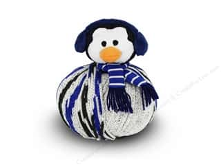 Multi Colored Yarn: DMC Yarn Kit Top This Penguin