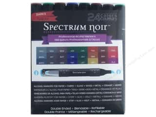 stamps: Crafter's Companion Spectrum Noir Pen Set Darks 24 pc.