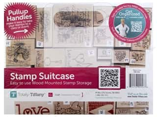 Weekly Specials Scrapbooking Organizers: Totally Tiffany Organizers Stamp Suitcase