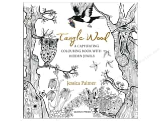 Search Press Tangle Wood Coloring Book Picture