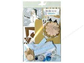 Projects & Kits: Bo Bunny Ephemera Whiteout